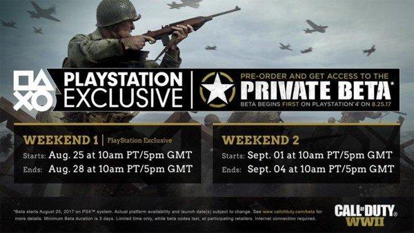 E3 2017 U-tad: Call of Duty: WWII ya tiene fecha para su beta multijugador