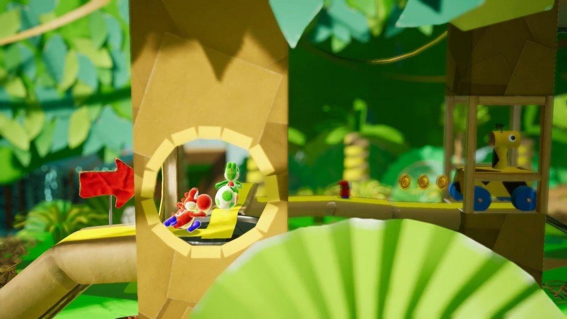 Yoshi para Switch tiene un nuevo gameplay de 30 minutos