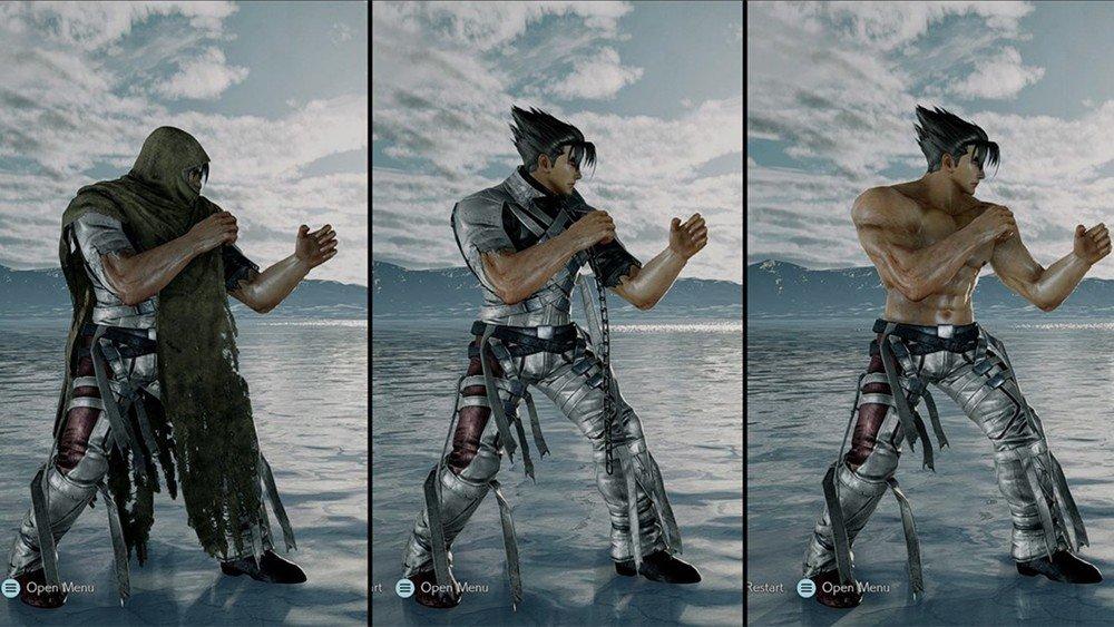 Tekken 7 incorpora a Tattered Jin con un mod