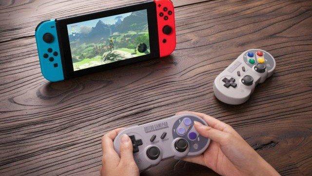 Nintendo Switch tendrá un mando inspirado en el de Super Nintendo