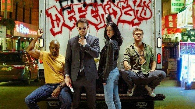 Netflix presenta el póster oficial de The Defenders