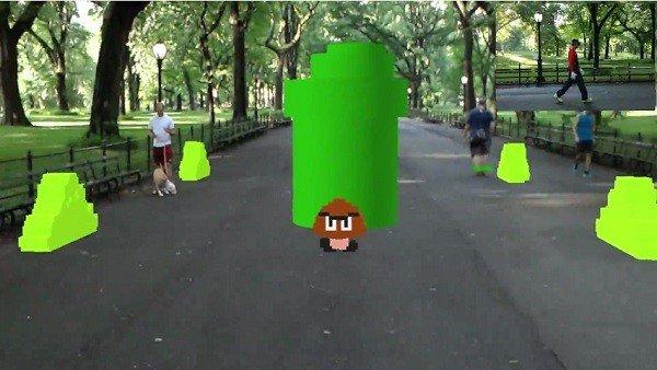 Super Mario Bros. cuenta con su propio juego en realidad aumentada