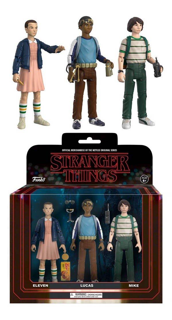 Stranger Things anuncia una línea de figuras de acción retro