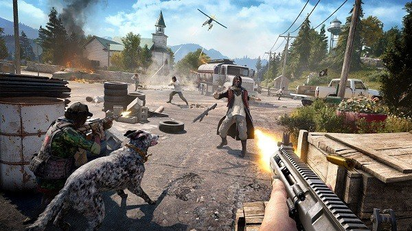 Far Cry 5 quiere que Boomer sea tu compañero canino preferido de los videojuegos