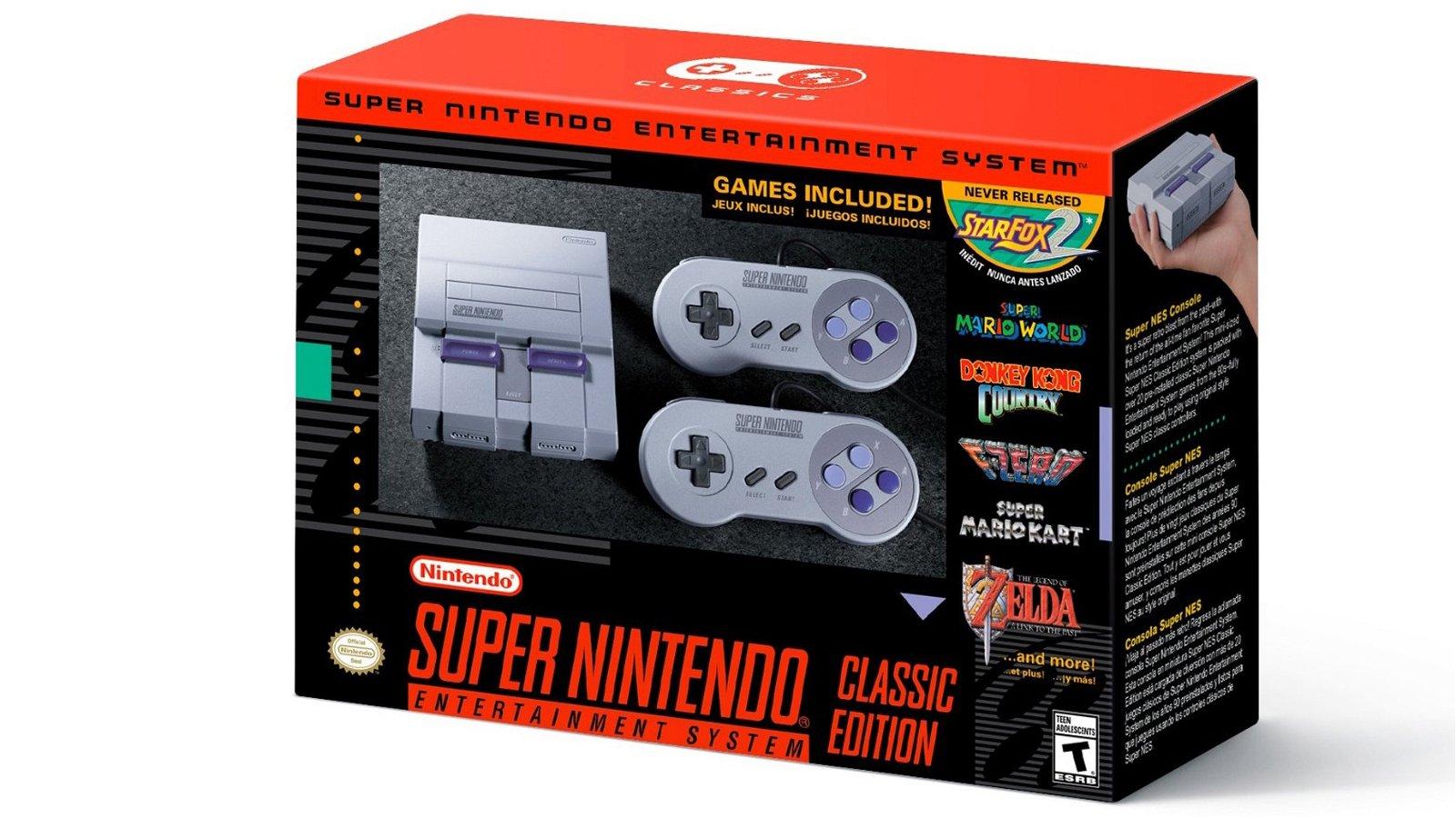 SNES Mini: Nintendo confirma su lanzamiento, fecha y juegos