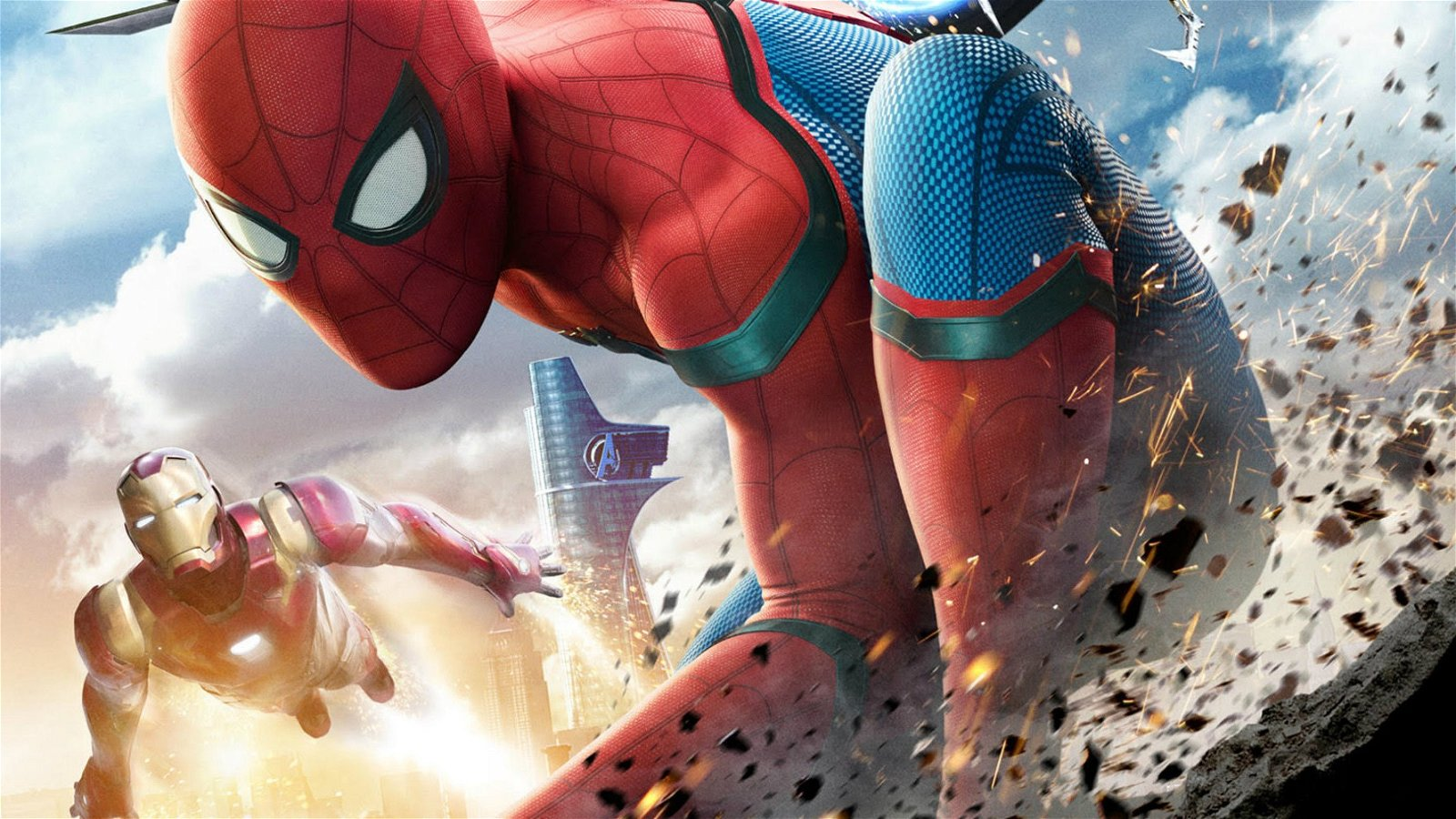 Peter Parker ya aparecía en Iron Man 2