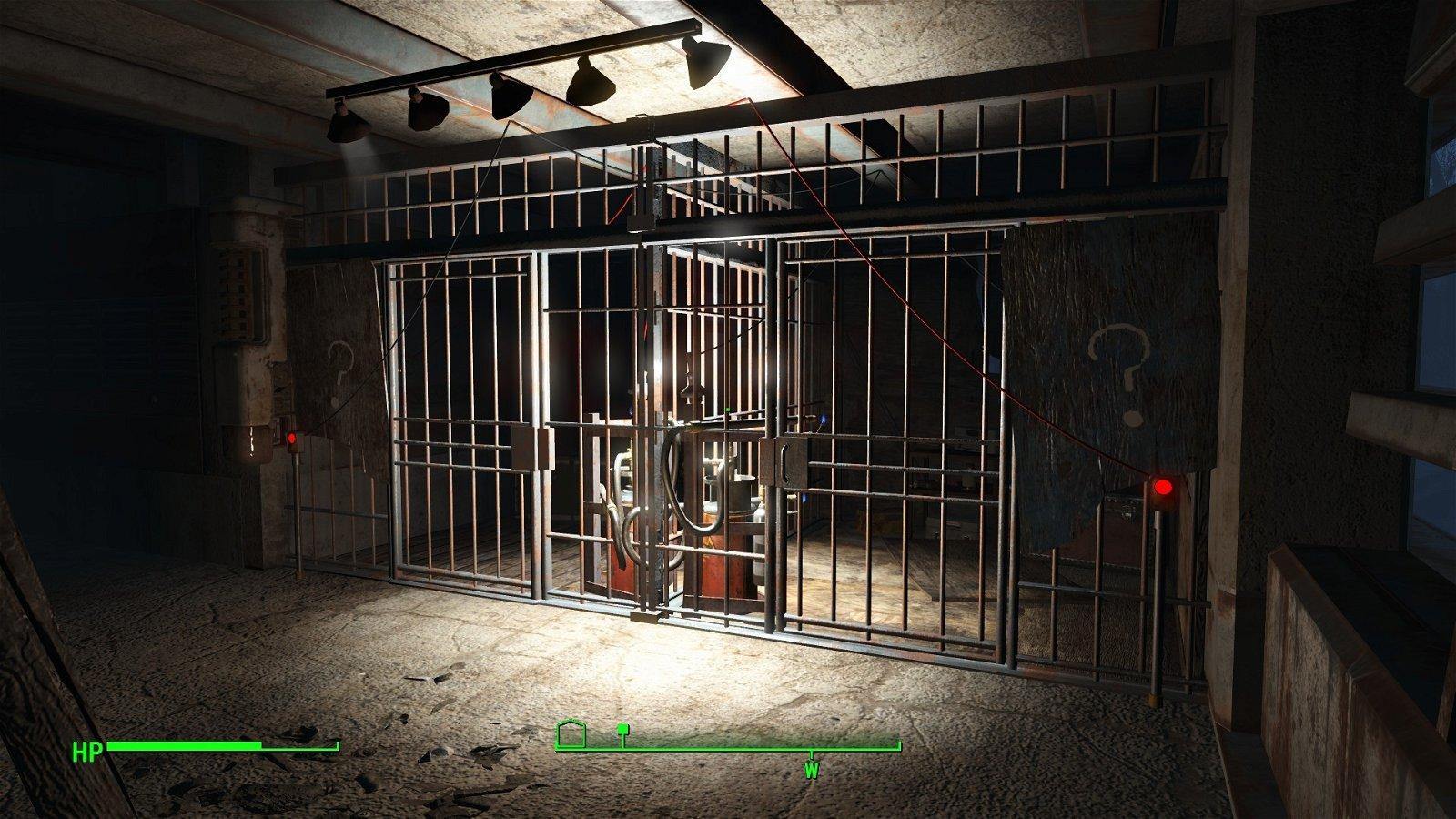Fallout 4 tiene una extraña localización que no está marcada en el mapa