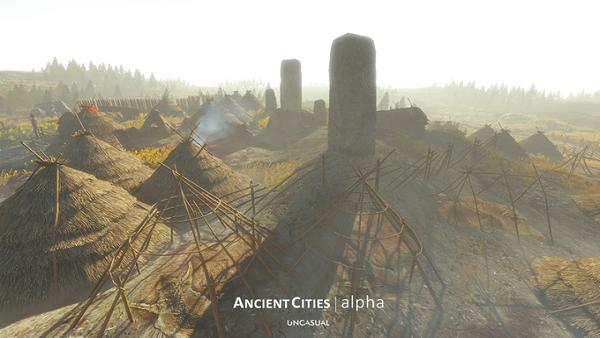Ancient Cities, city-builder prehistórico, logra su objetivo en Kickstarter