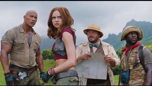 Jumanji: Welcome to the Jungle estrena su primer tráiler oficial
