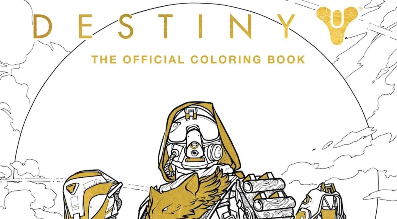 Destiny ya tiene su propio libro para colorear | Alfa Beta Juega