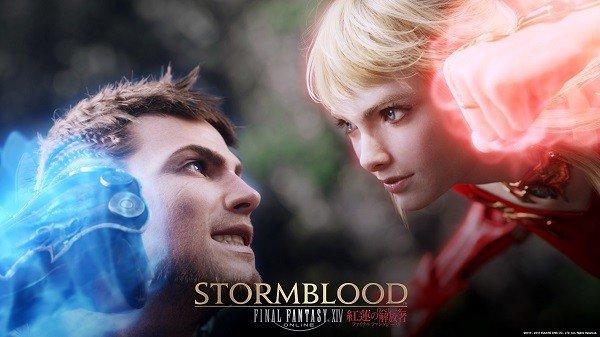Final Fantasy XIV: Celebran el lanzamiento de la expansión Sormblood con una proyección de lo más increíble
