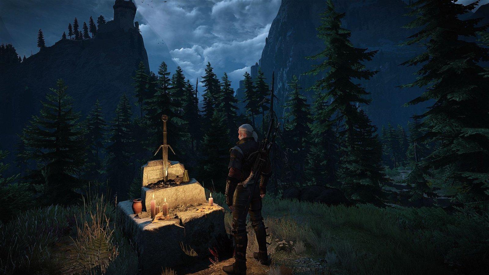 The Witcher 3 tiene un emotivo guiño a la primera entrega de la saga