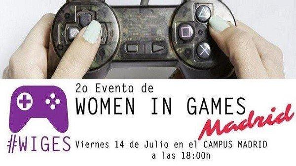 Madrid acogerá la segunda edición de Women in Games que se celebrará el 14 de julio