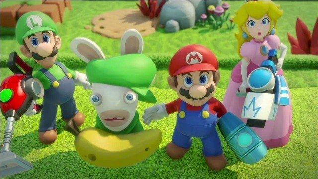 Mario + Rabbids: Kingdom Battle especifica su tamaño en disco