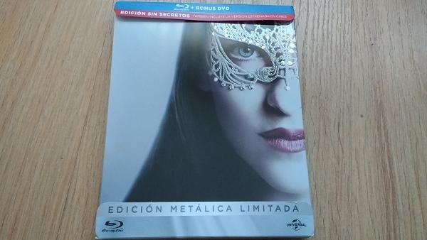 Cincuenta Sombras Más Oscuras: Análisis de la edición en Blu-ray steelbook