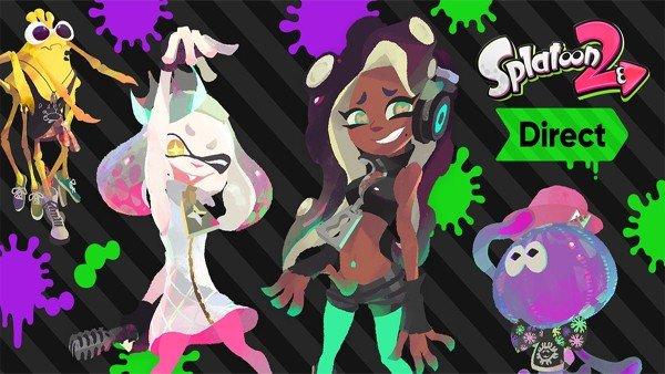 Splatoon 2 anuncia un montón de novedades en su Nintendo Direct