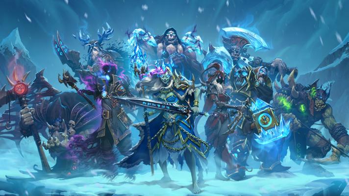 Hearthstone presenta su nueva expansión, Knights of the Frozen Throne