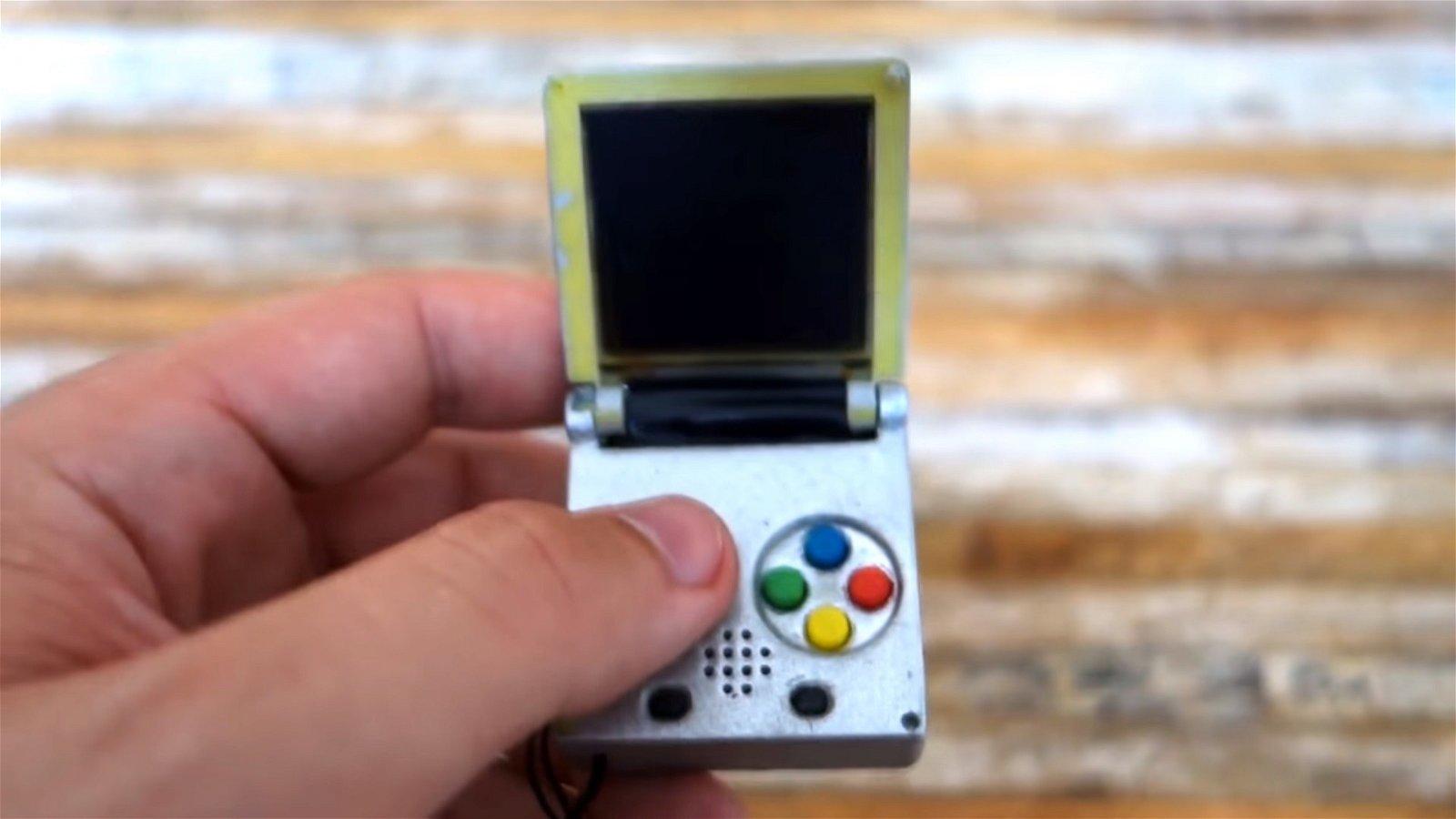 Construyen una Game Boy en formato llavero completamente funcional