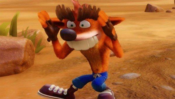 Crash Bandicoot N'Sane Trilogy tiene varios Fake Crash escondidos