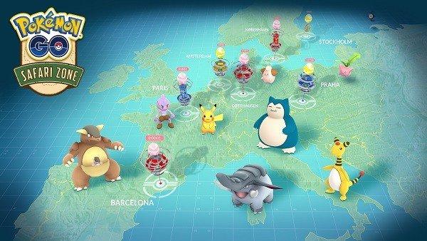 Pokémon GO anuncia nuevos eventos alrededor del mundo