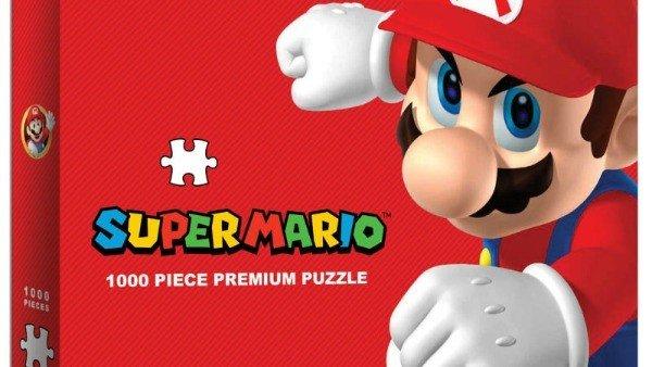El puzzle de Mario que lo hace todo mal