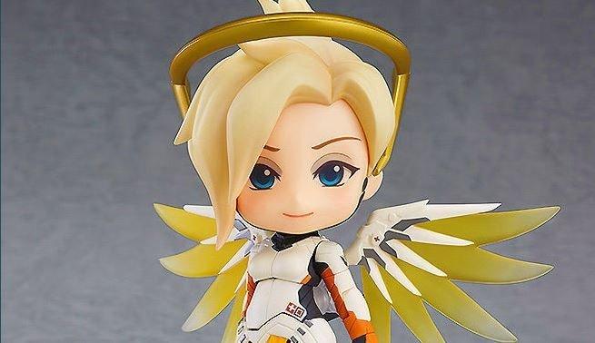 Overwatch lanza la figura Nendoroid de Mercy