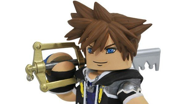 Kingdom Hearts presenta una nueva línea de juguetes bastante particular