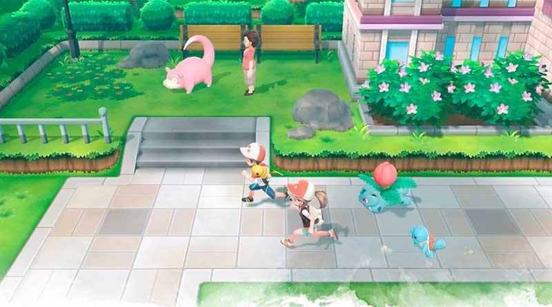 Pokémon Let's GO Pikachu!/Eevee! 4