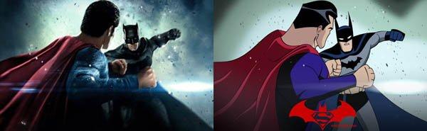 Los carteles de las películas de DC se convierten en versión animada