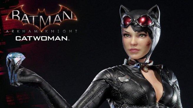 Catwoman presenta una impresionante nueva estatua