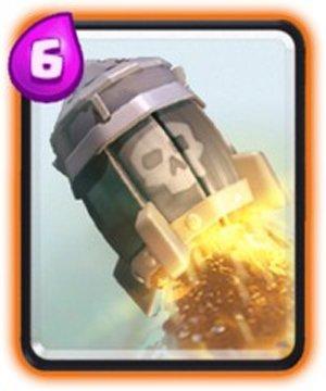 Clash Royale presenta el desafío de cohetes