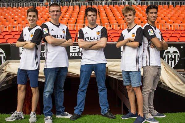 E-Sports: El Valencia FC presenta su equipo de Clash Royale
