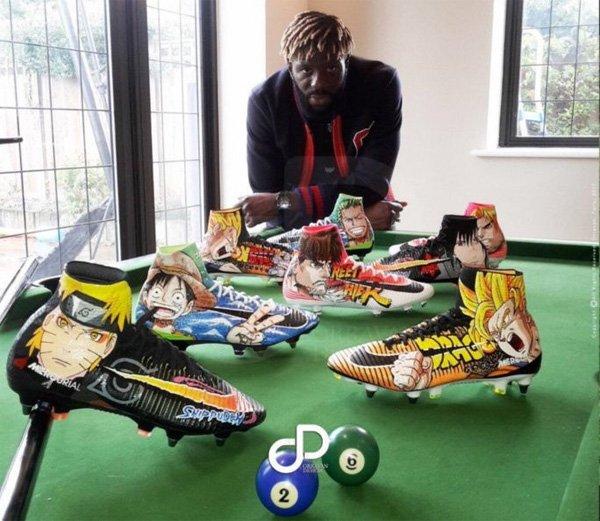 Dragon Ball: Un jugador de fútbol profesional luce unas botas con dibujos de la serie