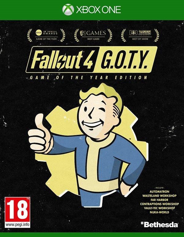 Fallout 4 anuncia su versión Game of the Year