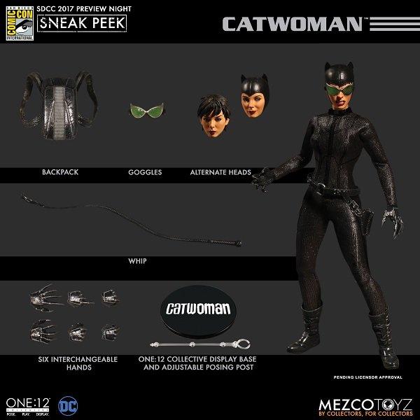 Catwoman presenta una nueva figura para coleccionistas