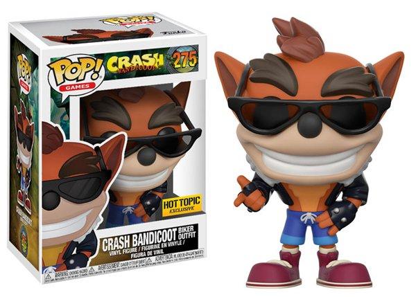 Crash Bandicoot tendrá sus figuras Funko Pop
