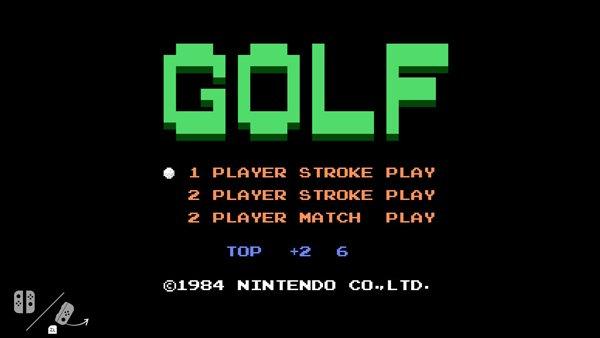 Nintendo Switch: El software de la consola esconde el clásico juego de golf de NES