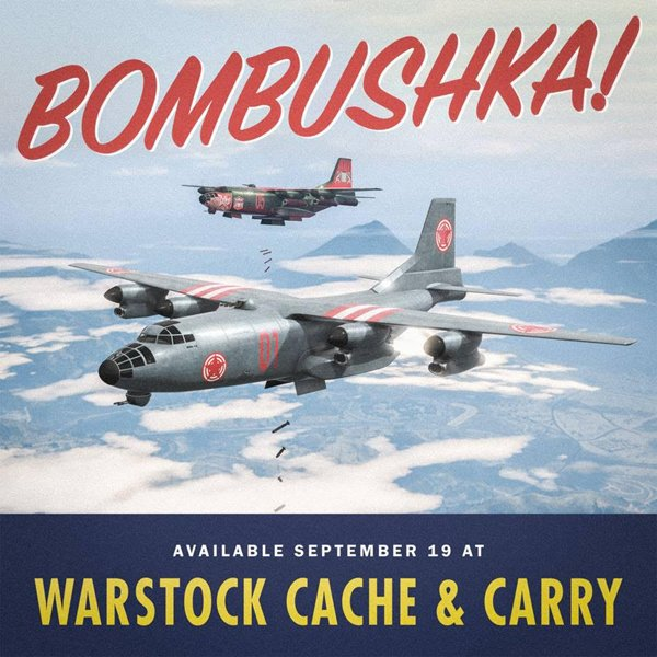 Grand theft Auto Online nos trae el avión Rm-10 Bombushka y un modo de juego