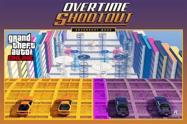 Grand theft Auto Online recibe un nuevo vehículo y un modo de juego