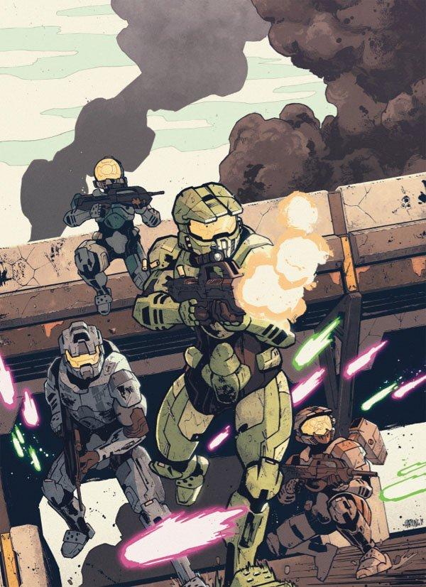 Halo: Collateral Damage es el cómic que continuará la historia del Jefe Maestro