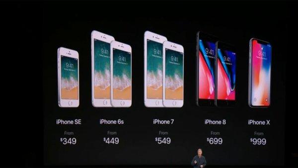iPhone X: Apple confirma su precio y fecha de lanzamiento