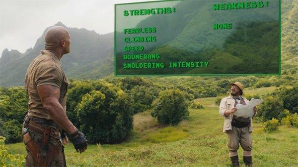 Jumanji Bienvenidos a la Jungla: Los personajes perderán vidas como si de un videojuego se tratara