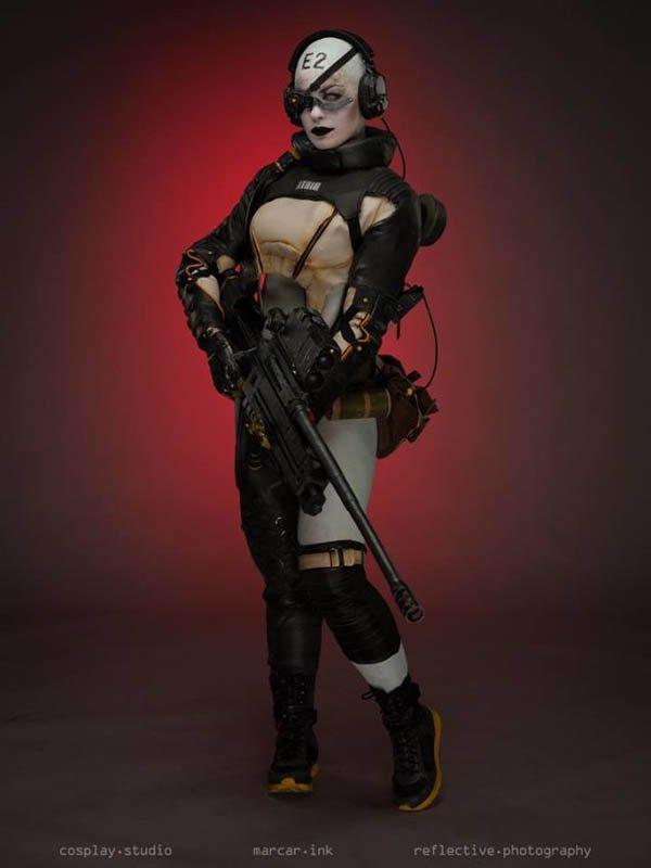 Metal Gears Solid V protagoniza un llamativo cosplay de Skull Sniper