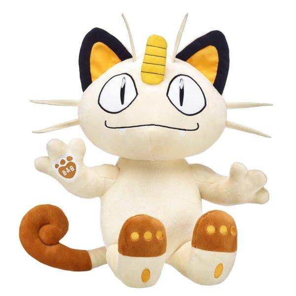 Pokémon tiene un nuevo y espectacular peluche de Meowth