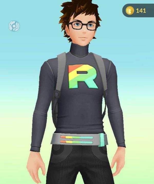 Pokémon GO trae trajes basados en el Team Rocket y Team Rainbow Rocket