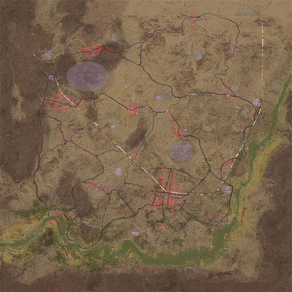Playerunknown's Battlegrounds: Su nuevo mapa al descubierto