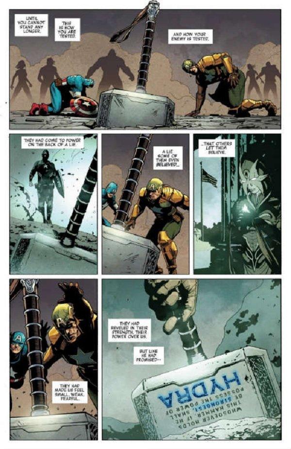 La versión maligna del Capitán América es derrotada en Secret Empire