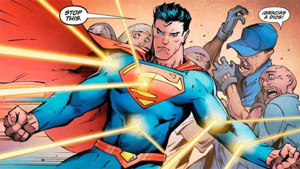 Superman defiende a inmigrantes ilegales en su último cómic y desata la ira de algunos