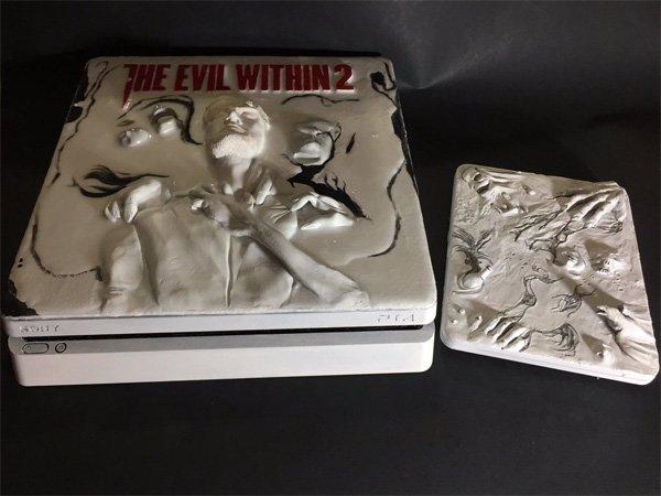 The Evil Within 2: Un modder crea un diseño espectacular de PlayStation 4 basada en el juego