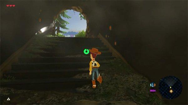 The Legend of Zelda: Breath of the Wild introduce a Waluigi y Woody con dos nuevos mods